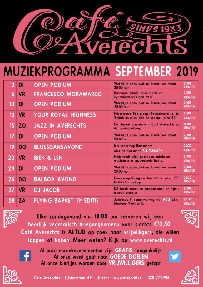 Muziekprogramma sept 2019 small