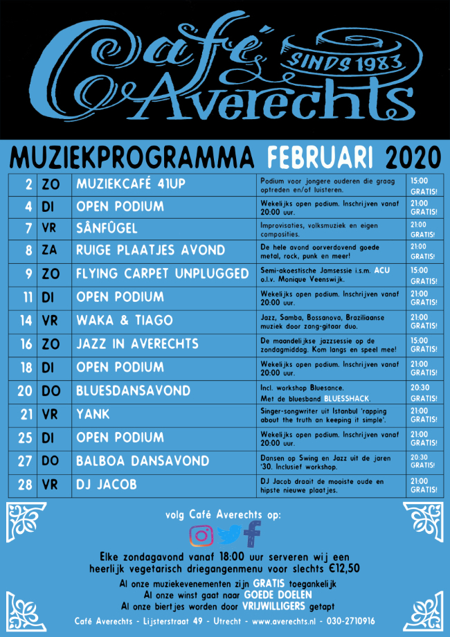 Muziekprogramma feb 2020 small